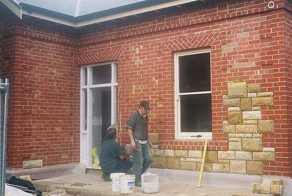 Stone Veneer & Cladding - Fine Line Repointing & Stone